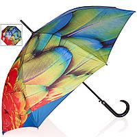Зонт трость женский полуавтомат Doppler (Допплер) коллекция Modern Art (Модерн Арт)
