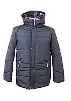 Зимняя мужская куртка 227 черная