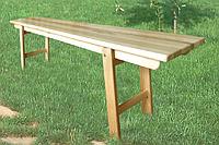 Лавка складная деревянная