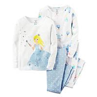 Комплект пижам хб Carters (Картерс) (2Т, 3Т, 4Т)