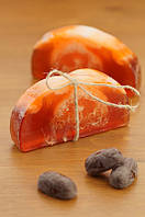 """Глицериновое мыло ручной работы """"Апельсин в шоколаде""""  100 г."""