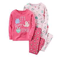 Комплект пижам хб Carters (Картерс) (2Т, 3Т, 4Т, 5Т)