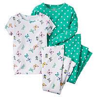 Комплект пижам хб Carters (Картерс) (2Т, 5Т)