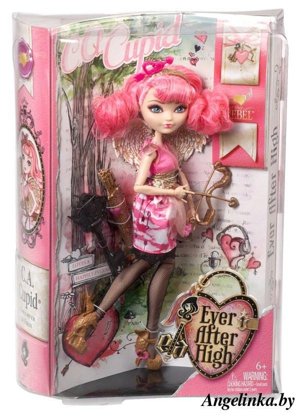 Ever After High - Лялька Сі Ей Кьюпід (C.A. Cupid, кукла Эвер Афтер Хай Си Эй Кьюпид, серия Отступники)