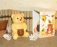 """""""Медвежонок с мёдом"""" натуральное подарочное мыло ручной работы"""