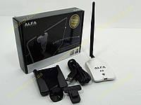 Беспроводной адаптер WIFI ALFA AWUS036NHR Wireless N 2W Adapter b/g/n 150Mbps + 5dBi Antenna (Адаптер WiFi на чипе Realtek RTL8188RU c усилителем на