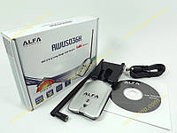 Беспроводной адаптер WIFI ALFA AWUS036H Wireless G 1W Adapter b/g 54Mbps + 5dBi ORIGINАL. Адаптер WiFi на чипе Realtek RTL8187L c усилителем на 1000mW