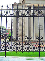 Забор кованый арт.27