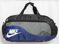Сумка текстильная спорт черный комби, фото 1