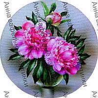 Вафельные картинки для торта цветы