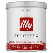 Кофе молотый ILLI Espresso  125 г  ж/б