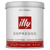 Кофе молотый ILLI Espresso  125 г  ж/б, фото 1