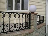 Кованый забор арт.28, фото 1