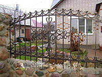 Кованый забор арт.29, фото 1