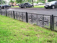 Забор для палисадника арт зп 3