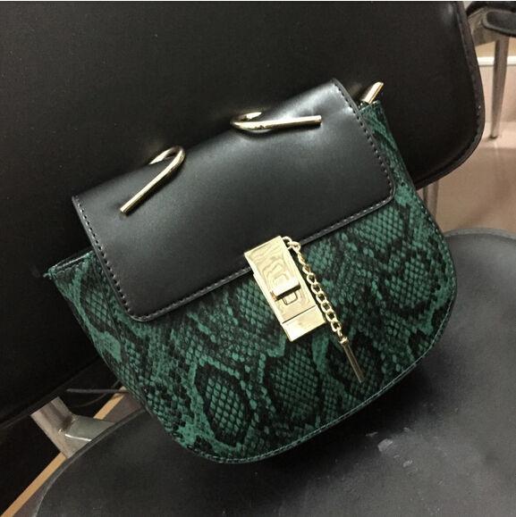 Женская сумка в стиле CHLOE | Зеленая