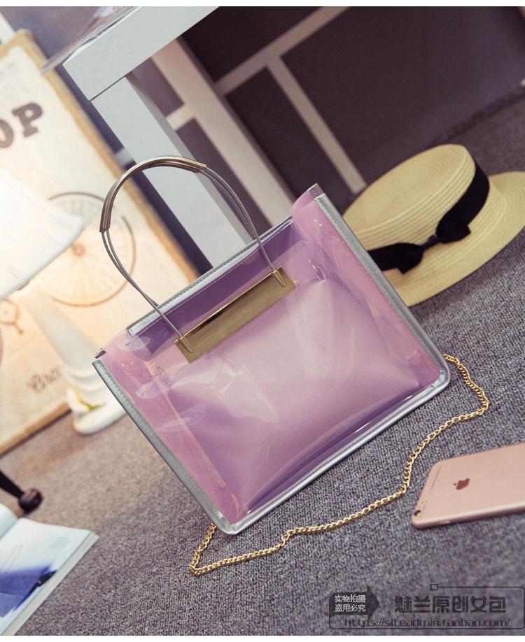 Женская сумка 2 в 1 | Розовая