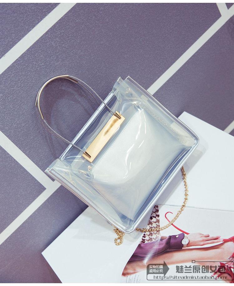 Женская сумка 2 в 1 | Белая