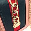 Женская сумка в стиле Gucci | Черная, фото 5
