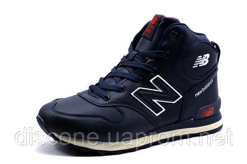 Ботинки зимние мужские New Balance Classic 1400, на меху, темно-синие