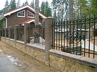 Забор кованый арт.30, фото 1