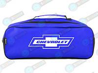 Сумка-органайзер для автомобиля в багажник Chevrolet Синяя