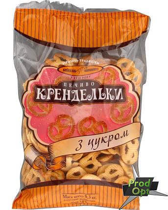"""Печиво фасоване """"Крендельки з цукром"""" Київхліб 260 г, фото 2"""