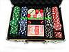 Покер в алюмінієвому кейсі 200 фішок номіналом, фото 7