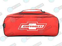 Сумка-органайзер для автомобиля в багажник Chevrolet Красная