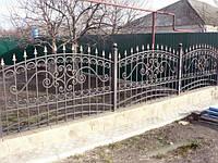Кованый забор арт.31, фото 1