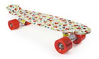 """Пенни Борд """"Angry Birds"""" / Злые Птички 22″ Красные Колеса / пенниборд скейт (penny board), скейтборд"""