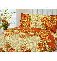 Двуспальный комплект постельный бязь 1,8 Цветы