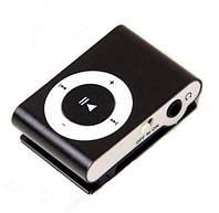 Мр3 плеер дизайн iPod Shuffle + наушники + кабель + коробка (Black), наушники, гарнитура, аудио техника, аксес