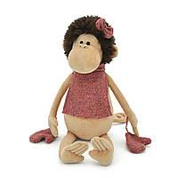 Мягкая игрушка «Orange» (5004/18) обезьянка Жози с манишкой в перчатках, 30 см