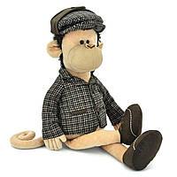 Мягкая игрушка «Orange» (5007/45SK) обезьянка Шерлок в пиджаке, кепке и туфлях, 75 см