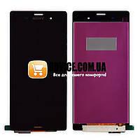 Модуль Sony D6603, D6643, D6653, D6633 Xperia Z3: дисплей + тачскрин (сенсор), цвет черный