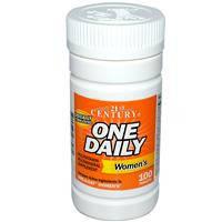 One Daily,Women's,комплекс витаминов и минералов для женщин, 100 таблеток