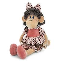 Мягкая игрушка «Orange» (5008/35SK) обезьянка Ляля в платье в горошек и туфлях, 65 см