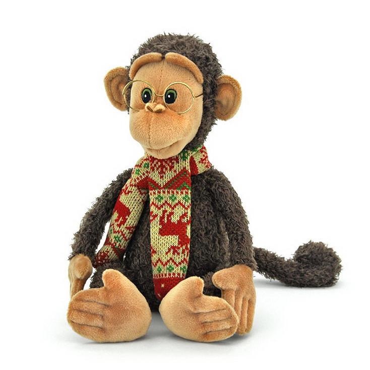 Мягкая игрушка «Orange» (OS095/26) обезьянка Гоша в очках, 32 см