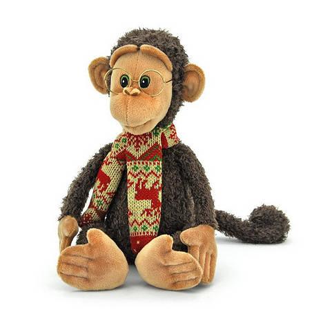 Мягкая игрушка «Orange» (OS095/26) обезьянка Гоша в очках, 32 см, фото 2