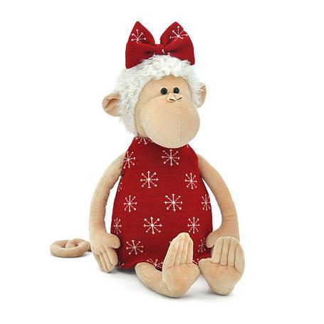 Мягкая игрушка «Orange» (5013/18) обезьянка Анфиска в красном платье, 30 см, фото 2