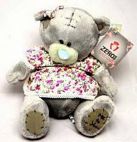 """Игрушка """"Мишка Тедди"""" в платье (плюшевый) 20 см."""