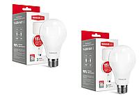 Maxus лампа светодиодная  A70 15w (4100К-3000К) 220v E27