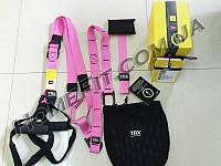 Петли TRX Home Pro Pack Pink (розовые) для женщин