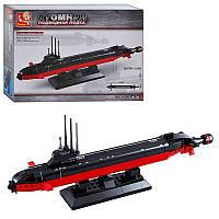 Конструктор Атомная подводная лодка 193 дет. в коробке 28,5*5,4*19см M38-B0391