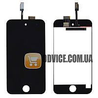 Модуль iPod Touch 4G: дисплей + тачскрин (сенсор), цвет черный