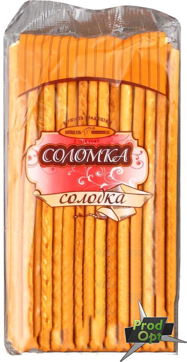 Соломка фасована солодка Київхліб 100 г