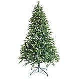 """Новогодняя искусственная елка 2,40 м литая """"Элегия"""" с двухцветными ветками, фото 2"""