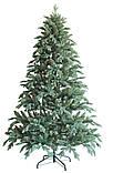 """Новогодняя искусственная елка 1,20 м литая """"Флора"""" голубая, фото 2"""