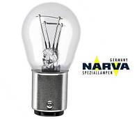 Лампа 12V P21/5W цоколь BAY15d (габарит/стоп) NARVA 17916